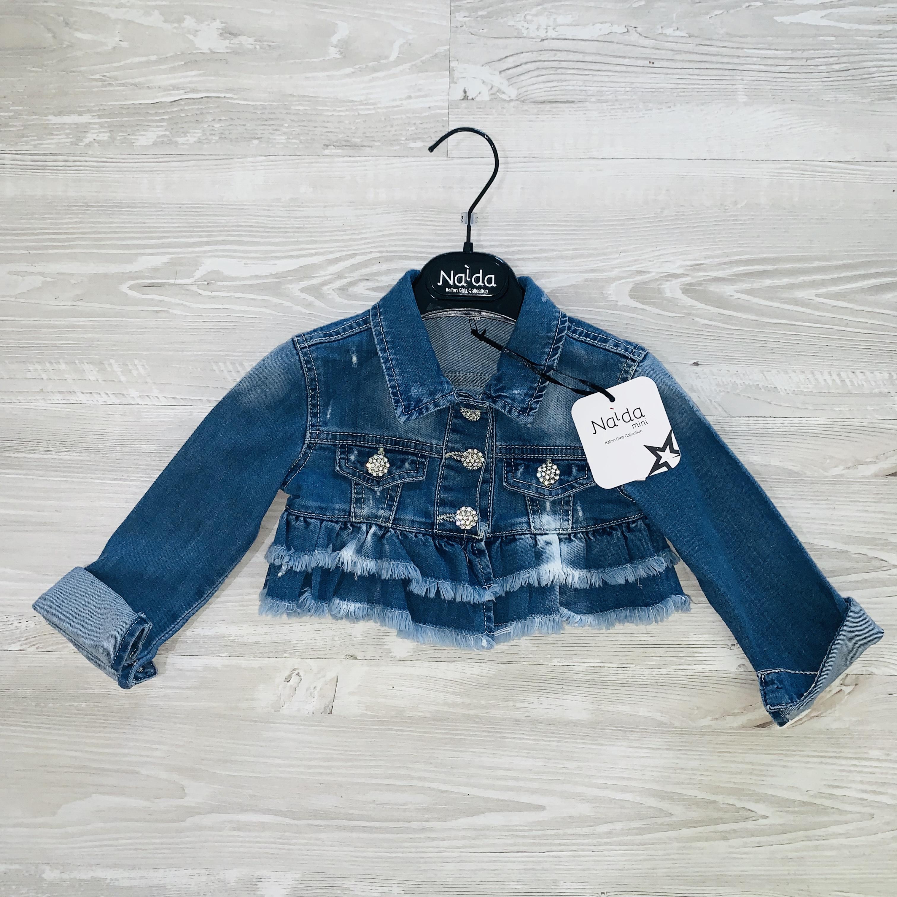 buy online 337ef 512f2 Giubbino corto jeans Naida