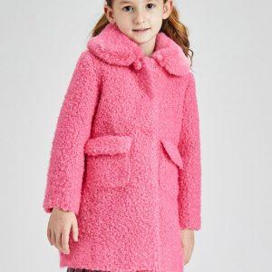 Cappotto rosa fluo