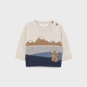 Maglioncino orsetto montagne