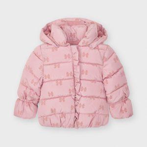 Giaccone rosa fiocchi